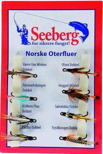 Seeberg Fluesett Norske Oterfluer