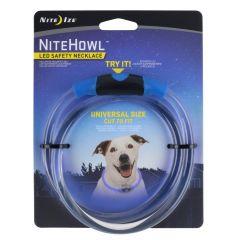 Nite Howl LED halsband 30-67,5cm Blå