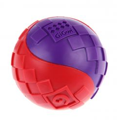 GiGwi Ball Rød/Lilla
