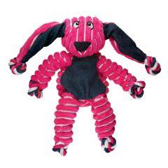 Kong Floppy Knots Bunny Rosa