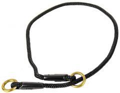 Alac dressurstrup halsbånd sort 6mm