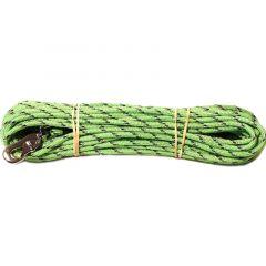 Alac Spor Line Grønn m/innvevd refleks 6mmx15m