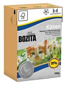 Bozita Feline Kitten kylling i gele 190gr