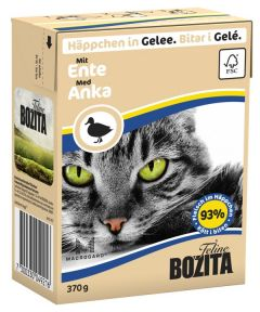 Bozita Biter i gele med and 370gr