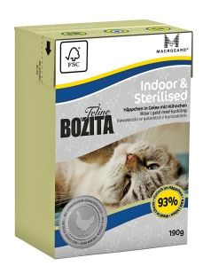 Bozita Feline Indoor&Sterilised 190gr