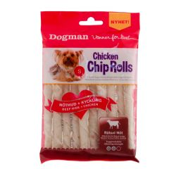 Dogman Chicken Chip Rolls 10-p 80gr