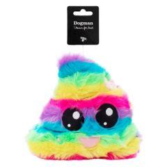 Dogman Hundeleke Kawaii Rainbow Poop