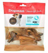 Dogman Kaninører 60 gr
