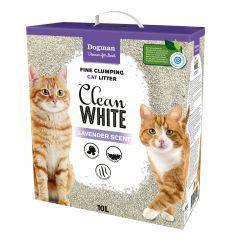 Dogman Kattsand Clean White 10L