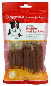 Dogman Miniribs med kyckling 80gr