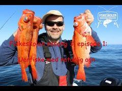 Fiskeskolen s3e1 Uer m/handleliste
