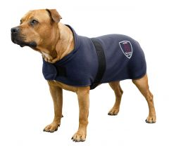 Hundedekken Jacson i fleece Mørkeblå