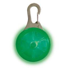 Spot Lit LED blinkelampe Grønn