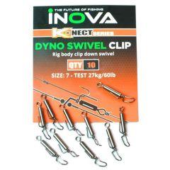 Inova Dyno Swivel Clip 10 stk 27 kg