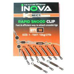 Inova Rapid Snood Clip 10 stk 12 kg