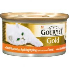 Purina Gourmet Oksekjött Kylling 85gr