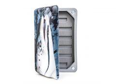 Salmon Slit Foam Fly Box L