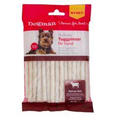 Dogman Tyggepinner hvite 30-pack 120gr