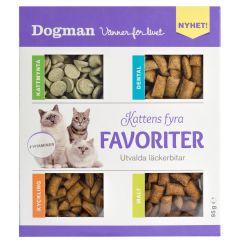 Dogman Kattens fire favoritter