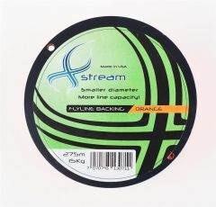 Xstream Backing 274 m 15 kg. 30 Lbs. Orange