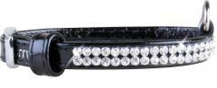 Collar brilliance halsbånd Sort 19-25cm