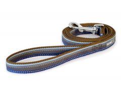 Kennel Dog Anti Slip Leash Active kobbel Blå