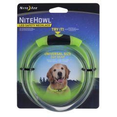 Nite Howl LED halsband 30-67,5cm  Grønn
