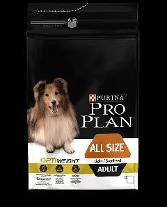 Pro Plan All Size Adult Lett/sterilsert 14kg
