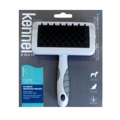 Kennel Rubber massage brush medium