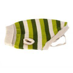 (1stk. på lager) Dekken Stripete trøye Green 25cm