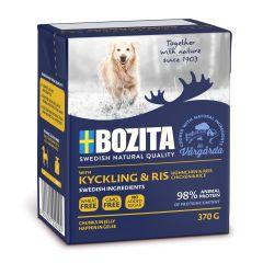 Bozita Chicken/Rice gelé 370gr