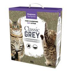 Dogman Kattsand Classic Grey 10L selges kun i butikken