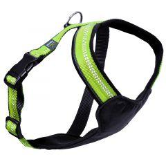 Kennel Dog Harness Y-sele neopren Grønn