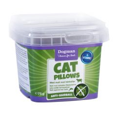Dogman Cat Pillows anti-hårball 75gr