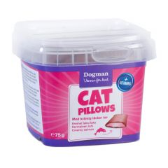 Dogman Cat Pillows kremet laks 75gr