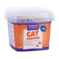 Dogman Cat Pillows kylling/ost 75gr