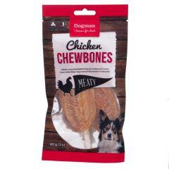 Dogman Kylling Chewbones 3 st 60gr