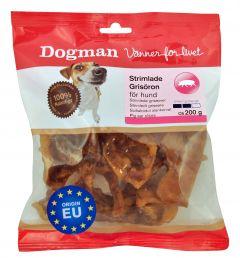 Dogman Strimlede griseører 200gr