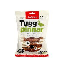 Dogman Tyggepinner med and 25p 12cm