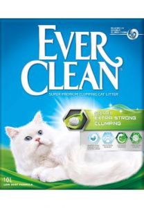 Ever Clean Extra Strong Clumping Scented 10L selges kun i butikken