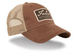 Fario Cap Dark Brown/Khaki Mesh