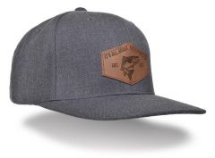 Guideline Flat Brim Cap Dark Heather