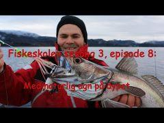 Fiskeskolens3e8 Naturlig agn på dypet