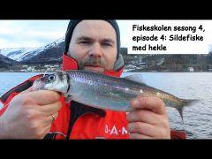 Fiskeskolen s4e4 Sildefiske med hekle m/handleliste