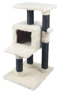 Kloremøbel 79cm hög. Hvit/svart