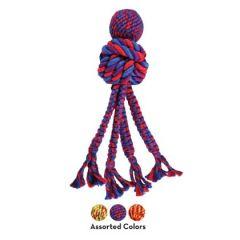 Kong Wubba Weaves w/Rope L 38cm