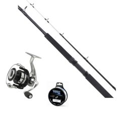 Lawson Sea Fighter 5' 100-500g Haspel m/ Quick 8000FD