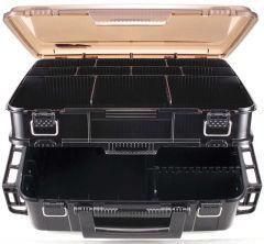 Meiho VS-3080 Dobbelboks Gul/svart