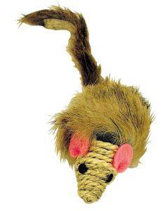 Katteleke Catman Mus med sisalsnute 7 cm