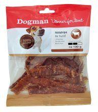 Dogman Oksestrips 100 gr
